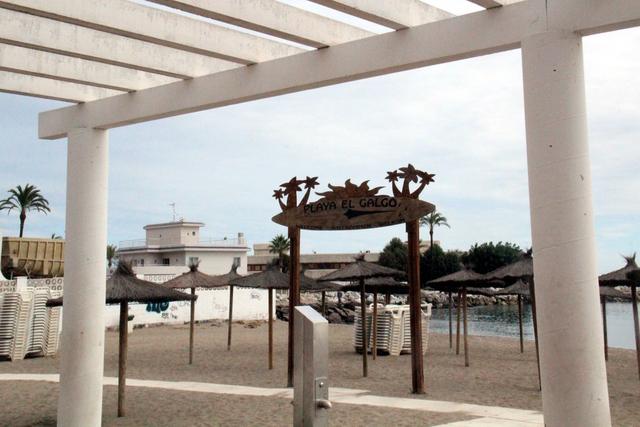 Playa El galgo