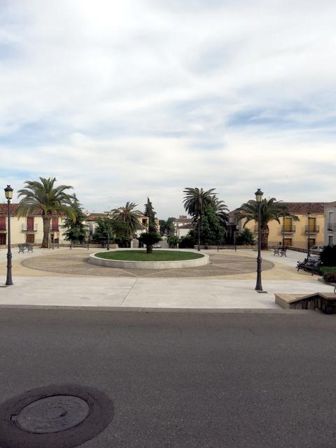 Una hermosa plaza