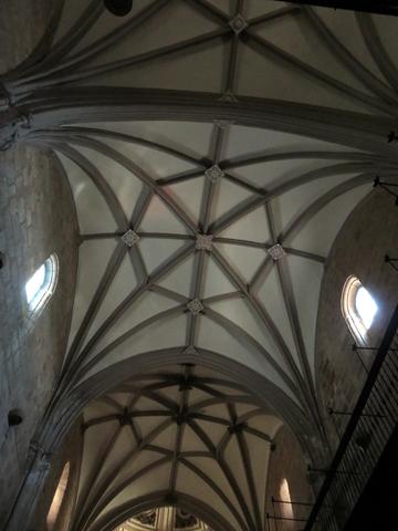 El techo gótico