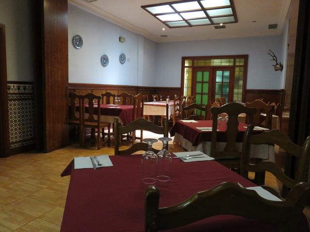 Aspecto del comedor en el interior