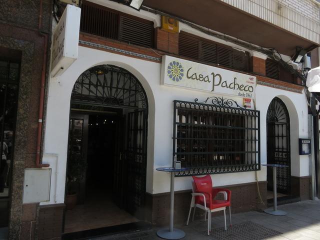 Fachada de la Casa Pacheco.