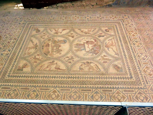 Uno e los mosaicos más importantes