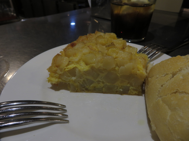 Tortilla de patatas.