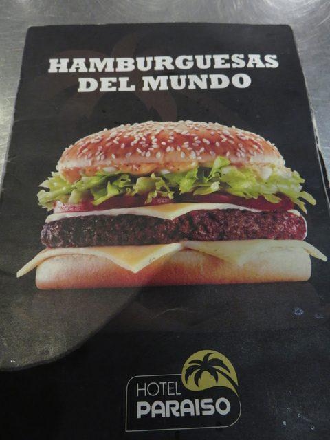Hamburguesas del mundo.