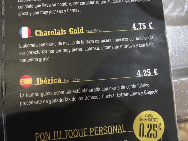 Charollais Gold, Ibérica