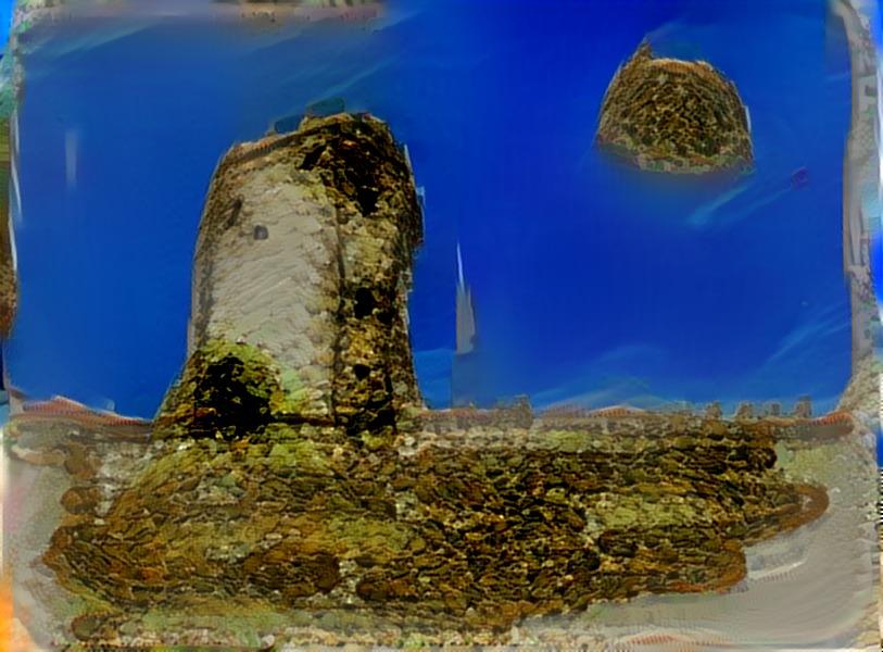 Versión libre de la torre de Torremolinos.