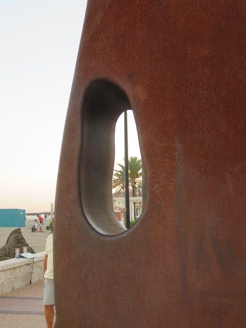 Cabeza de acero de Juan Méjica.