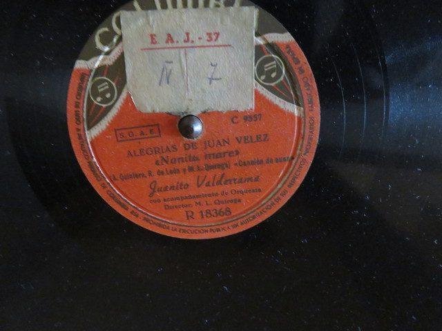 Un disco de 78 rpm