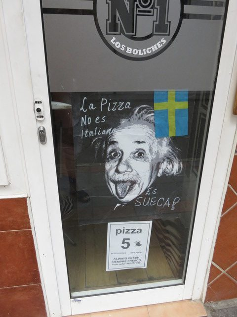 La pizza no es italiana, es sueca.