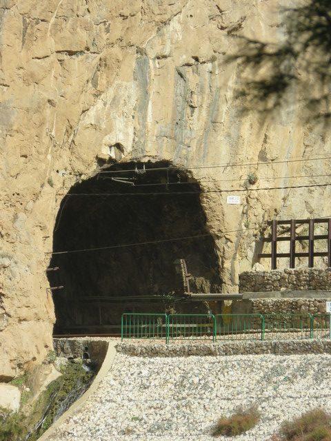 Túnel del tren.