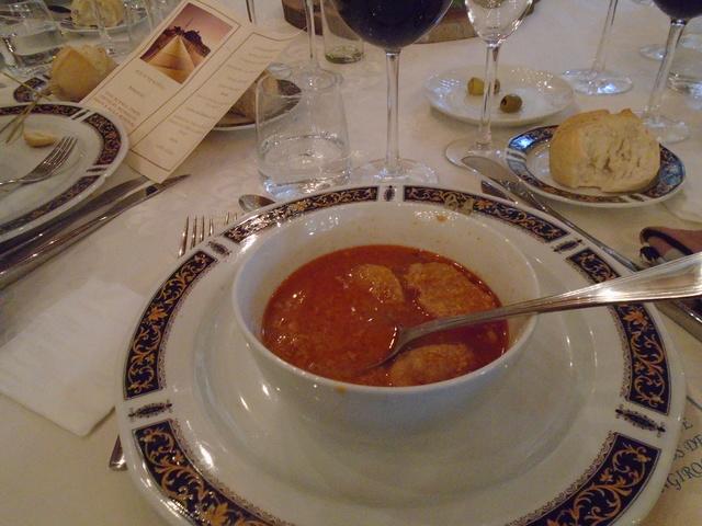 Una sopa de primero.