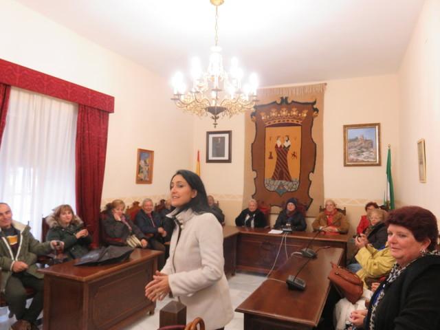 En el salón de plenos del ayuntamiento