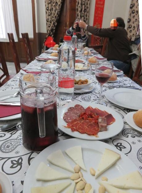 Comedor del hotel La Enrea.