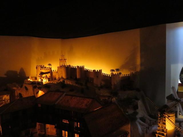 Ávila en el belén monumental de Huétor-Tajar