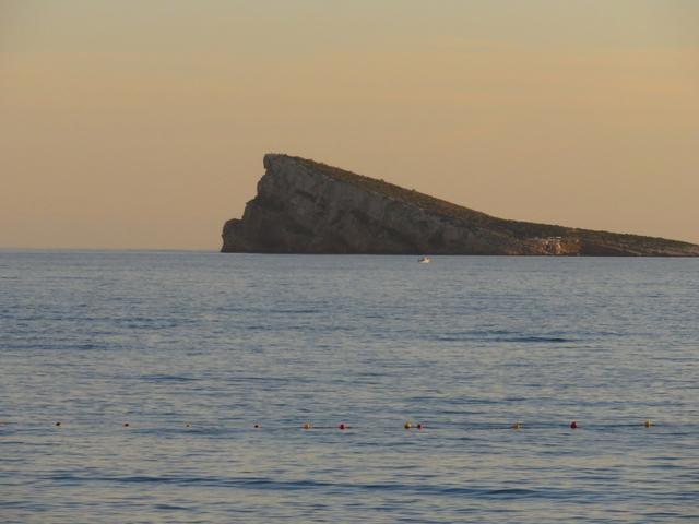 La isla de Benidorm.