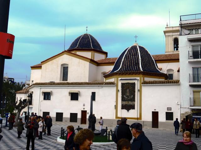 Oglesia de San Jaime y Santa Ana en Benidorm