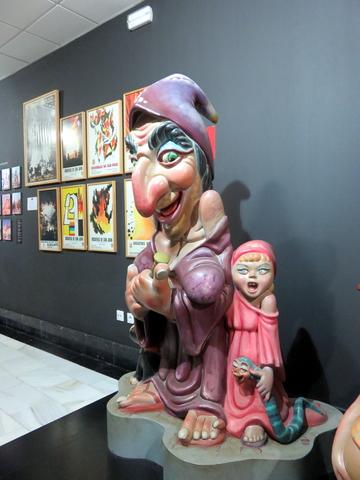 Ninots indultados del Museo de las Hogueras