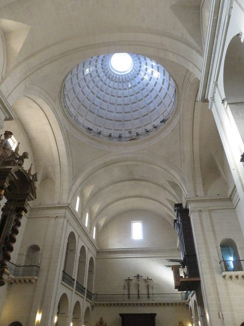 Interior de la iglesia concatedral de San Bicolás.