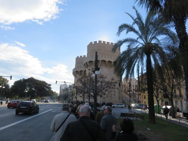 Las torres de Serranos.