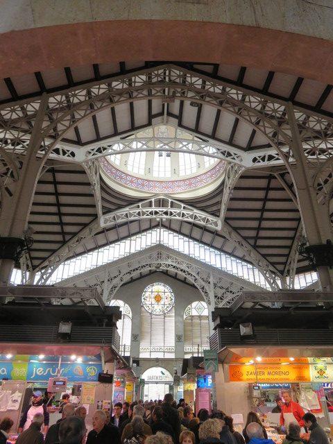 Mercado central de Valencia 1914.