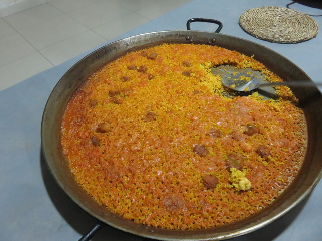 La horrible paella de Noches de Bohemia.