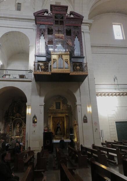 El órgano.