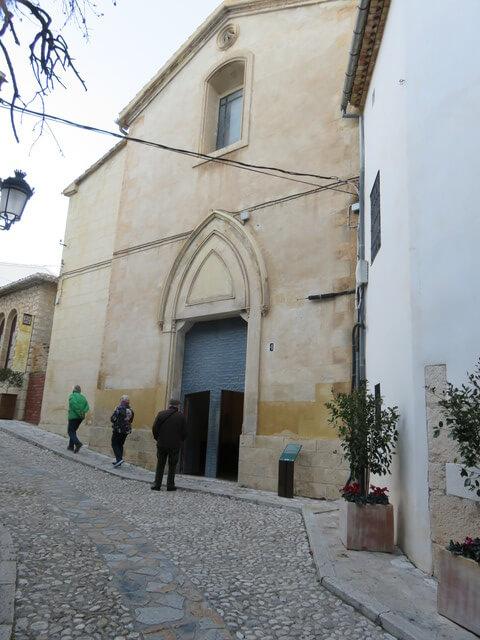 Iglesia de Guadalest.