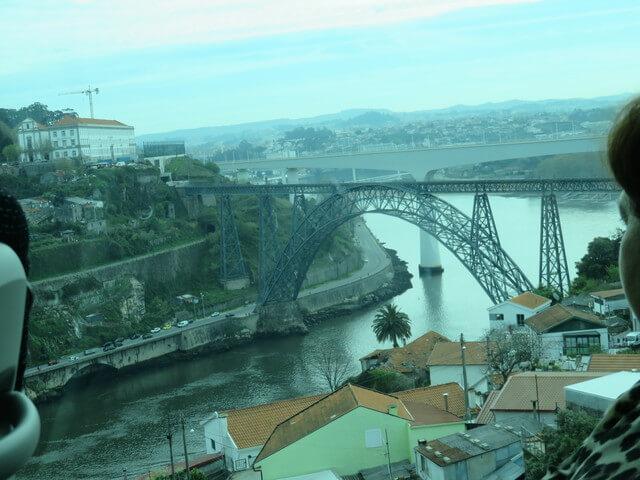 Puente de D. Luis que une Porto con Vila Nova de Gaia