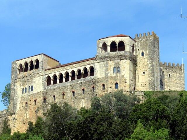 Castillo de Leiria. Portugal.