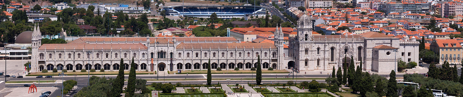 Los Jerónimos Lisbao. Foto de De Massimo Catarinella - Trabajo propio, CC BY 3.0, https://commons.wikimedia.org/w/index.php?curid=7604527