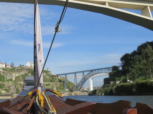 Tres puentes a la vista.