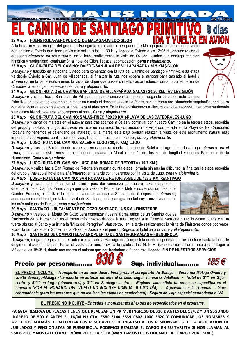 CAMINO DE SANTIAGO PRIMITIVO 2018 FUENGIROLA REDUCIDO-1
